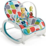 Fisher-Price FWX17 Infant-to-Toddler Rocker, New-Born Baby Bouncer Chair and Rocker, Suitable from Birth