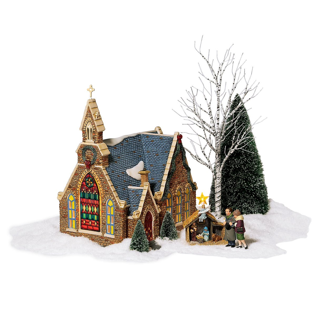 Dept 56 Holiday Gift Set Church of the Holy Light from Christmas in the City Series Department 56 56.59206