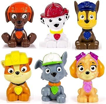 Fellfreunde Spielzeug Paw Patrol Spielfiguren Set 6-teilig