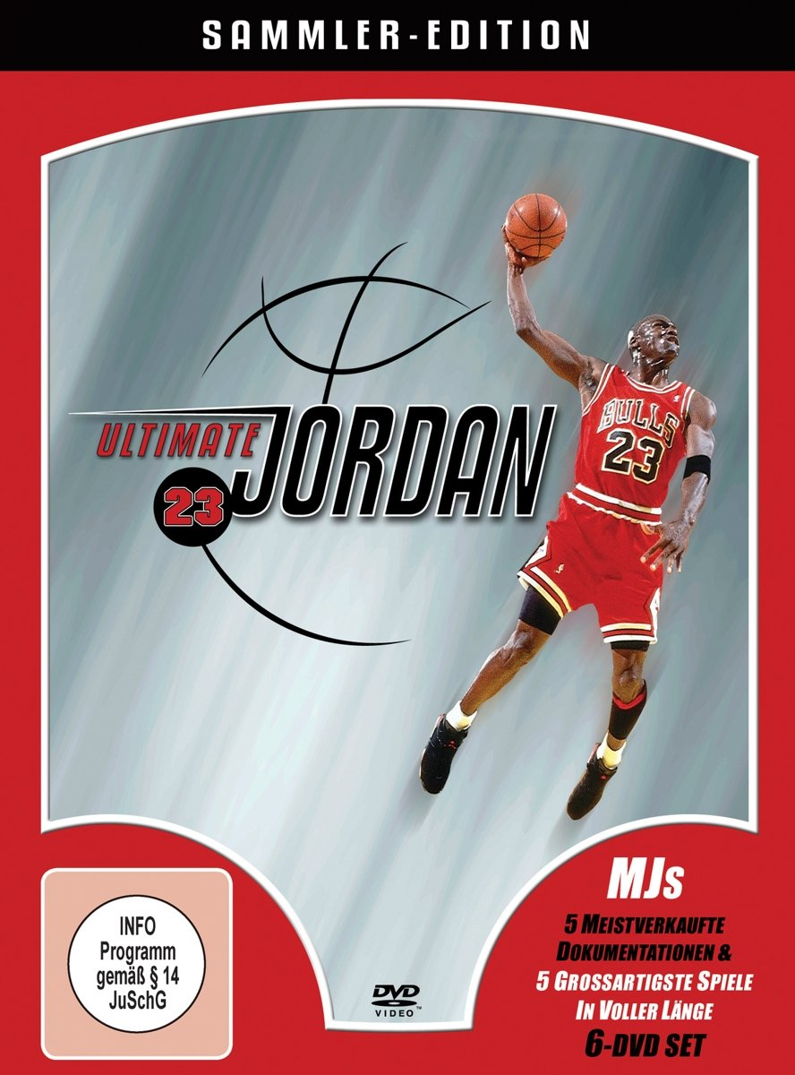 Ultimate Jordan - NBA Collectors Edition 6 DVDs Collector\'s Edition ...