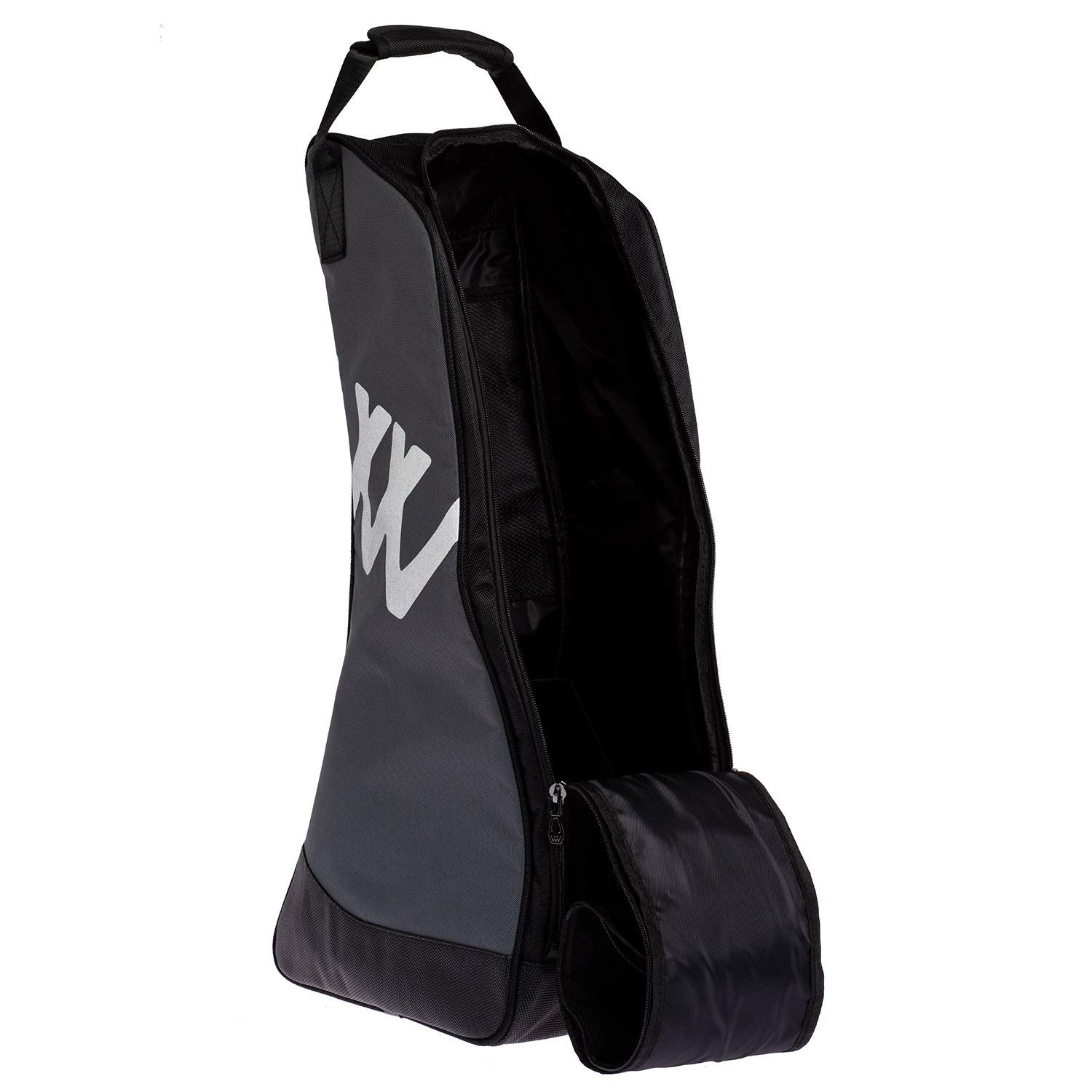 Woof Wear New Practical Boot Bag One Size black Grey
