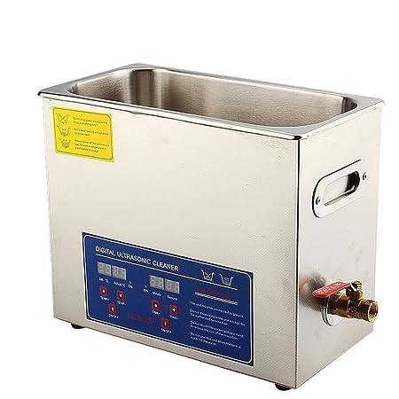 6l Digital Ultrasonic Cleaner Stainless Steel Ultra Sonic Bath