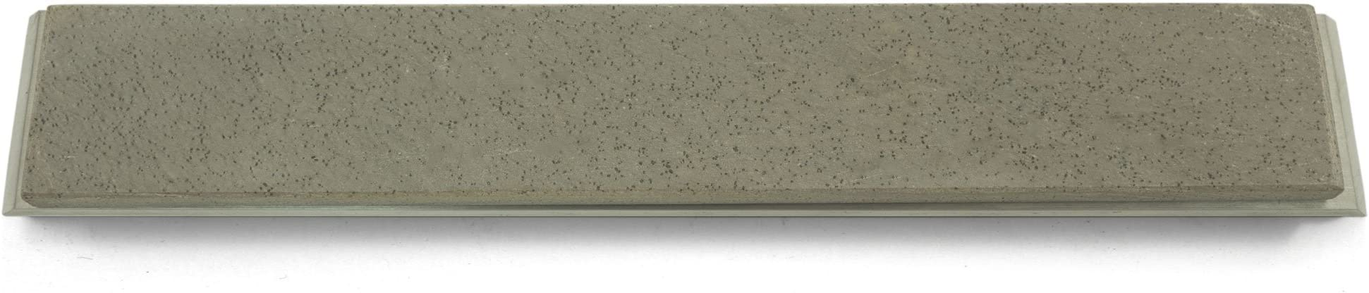 Select Grade Belgian Coticule Whetstone for KME 4 x 1 x 0.25 Belgian Natural Sharpening Stone with Aluminum Mounting of Estimated 12,000 grit