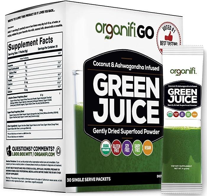 Top 8 Organifi Green Juice Super Food Supplement
