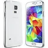 Samsung Galaxy S5 Mini Hülle in Transparent - Silikonhülle Case Schutzhülle Tasche für Galaxy S5 Mini