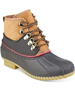 1310773d8df2 Tommy Hilfiger Womens Rinah Closed Toe Ankle Cold Weather Boots