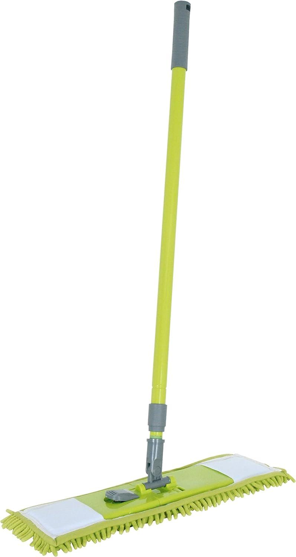 Gamuza 40x20x2 cm Multicolor MSV Mopa Oruga con Palo telesc/ópico