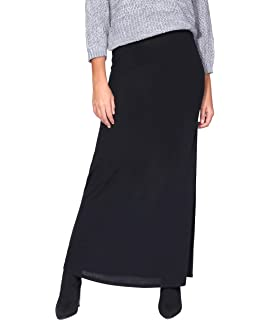 Marca Amazon - MERAKI Falda Maxi Slim Fit Mujer: Amazon.es: Ropa y ...