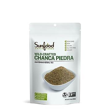 Amazon com : Sunfood Superfoods Chanca Piedra Tea Loose-Leaf
