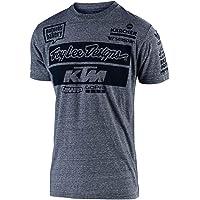 Troy Lee Designs 2019 KTM Playera del Equipo, Gris, Large
