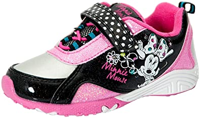 a4b5f3c9b5a84 Disney Minnie Mouse Toddler Girl's Sneaker Pink/Black