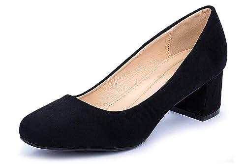 940f8cf0 La Push Loto Zapato Tacón Mujer Negros: Amazon.es: Zapatos y complementos