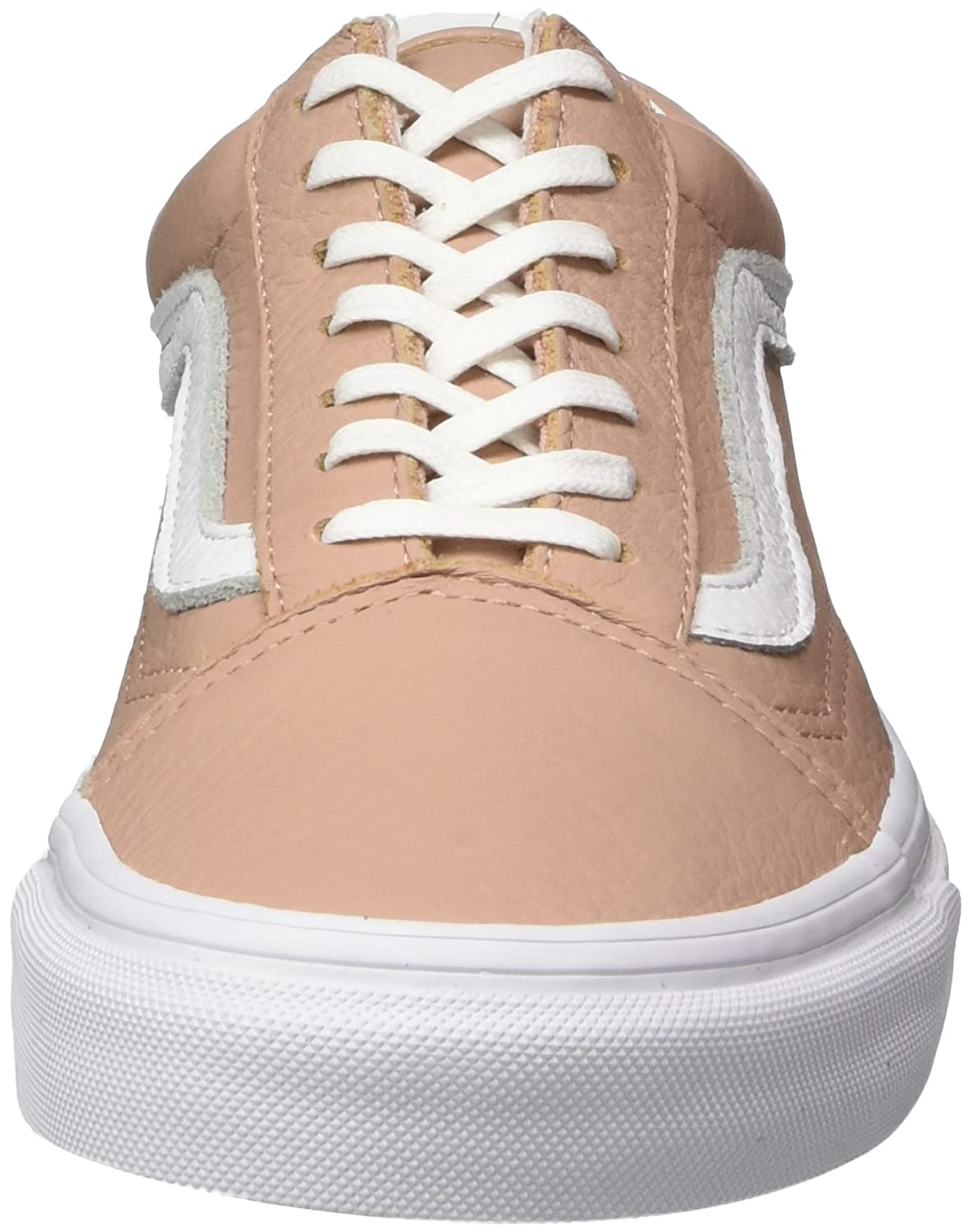 cf5fe2ce1cee4e Vans Women s Old Skool Leather Trainers  Amazon.co.uk  Shoes   Bags