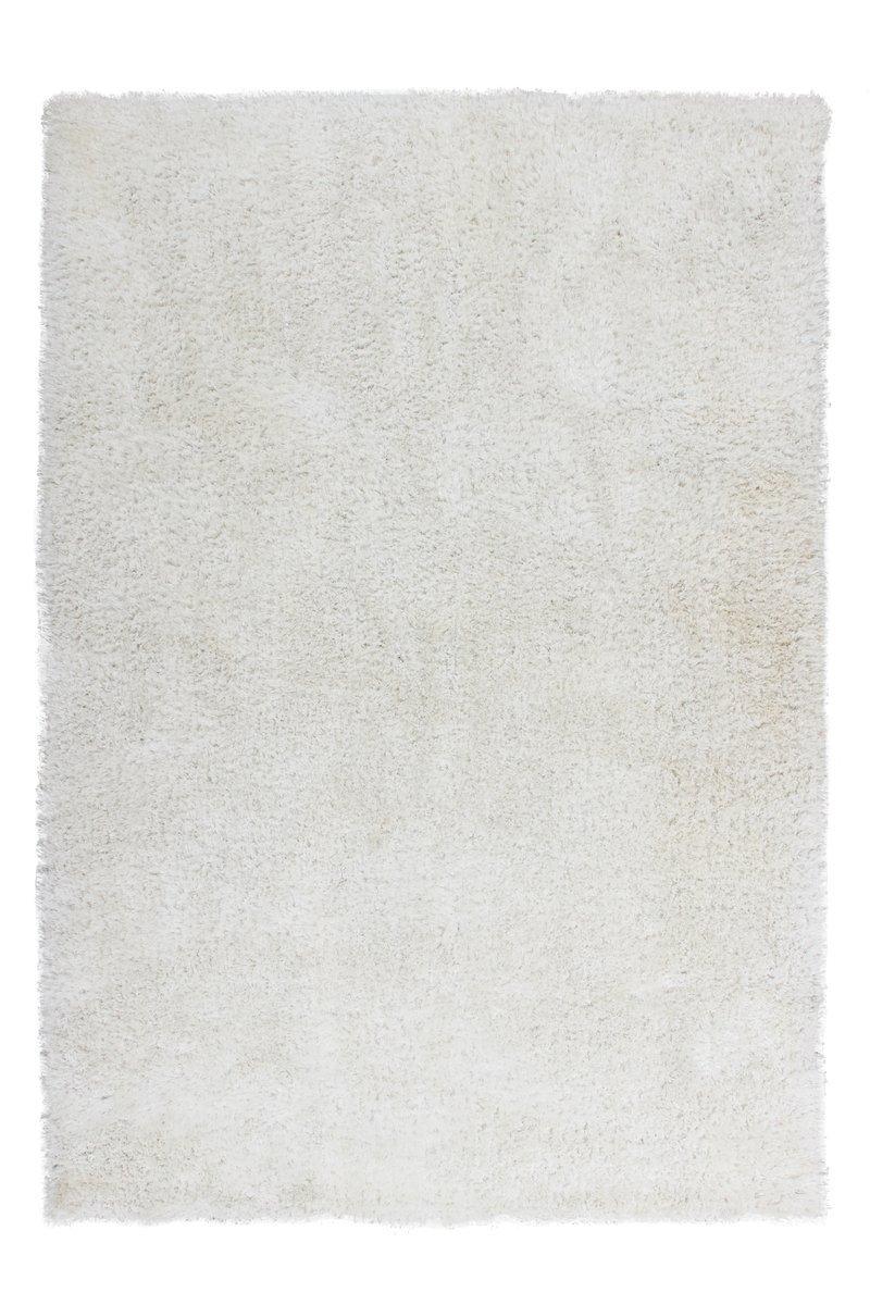 Lalee Teppich, Polyester, Weiß, 200x290 cm