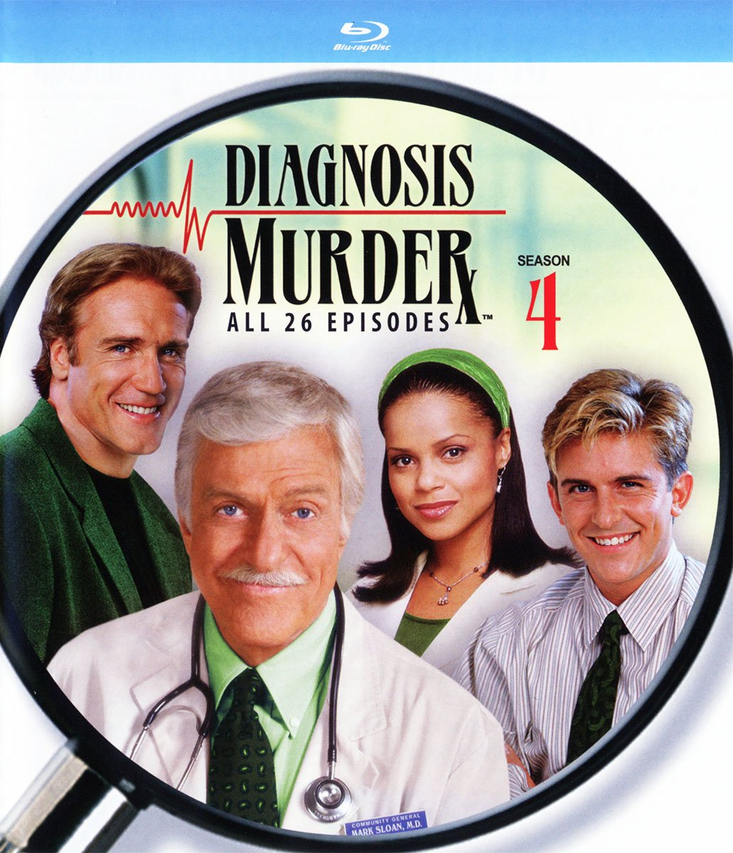 Blu-ray : Diagnosis Murder: The Fourth Season (Boxed Set, 4PC)