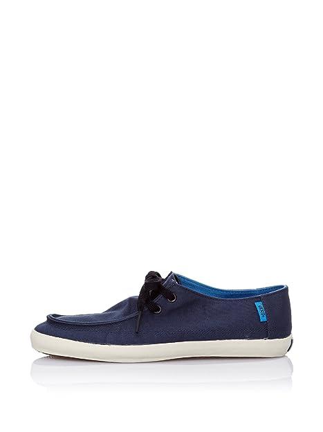 Vans M Rata Vulc, Mocasines para Hombre, Azul Grisáceo, 37 EU: Amazon.es: Zapatos y complementos