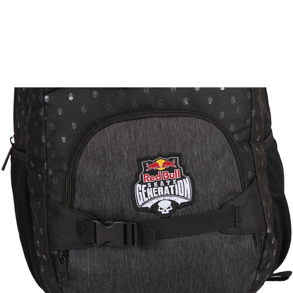 Mochila Red Bull Skate Generation Skull Bott Black RBA4043(198240)   Amazon.com.br  Papelaria e Escritório b75e8b49ba3