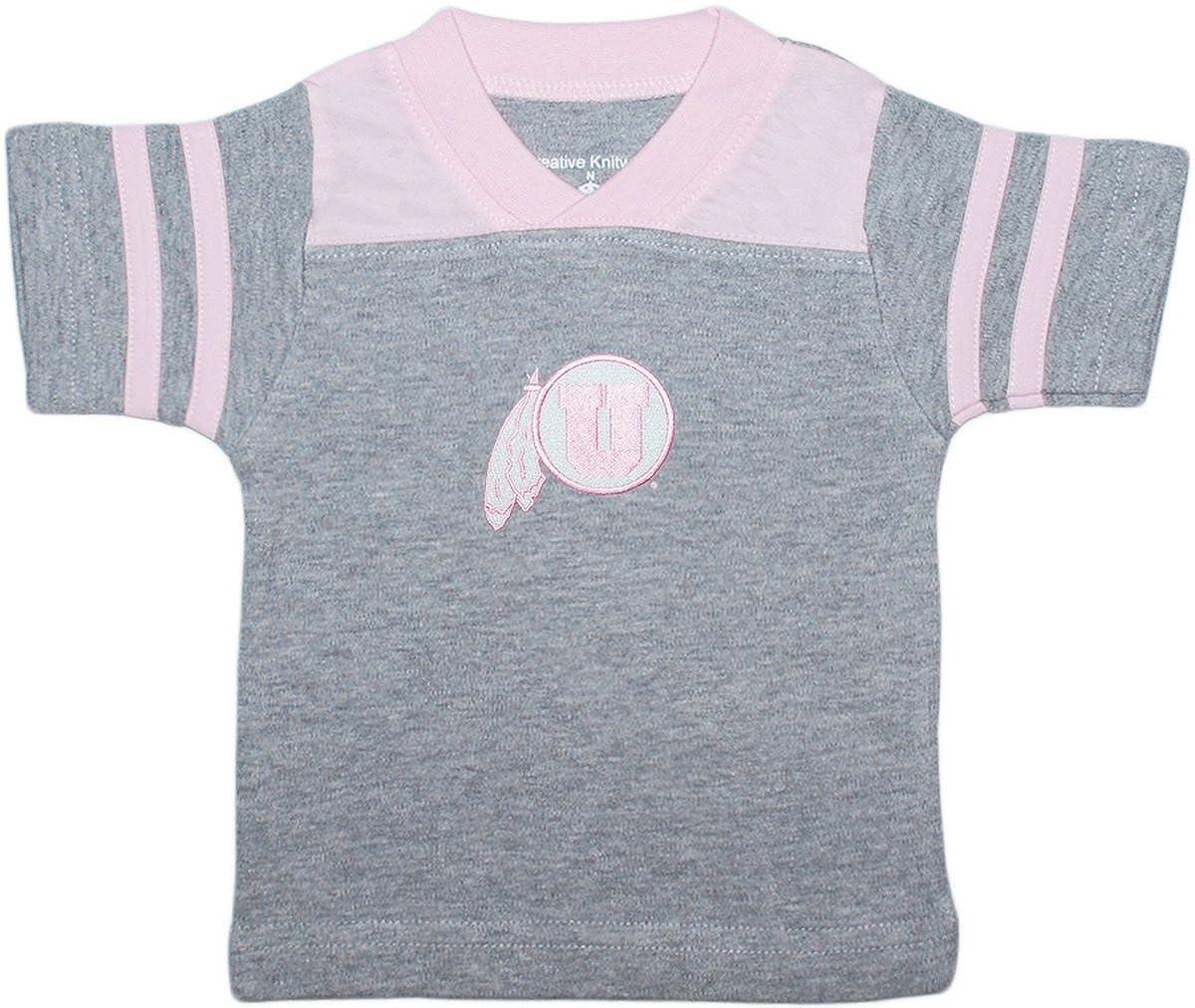 Creative Knitwear University of Utah Baby Sport Shirt