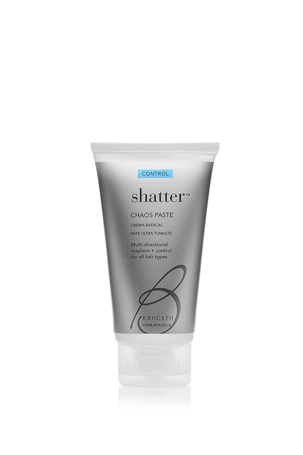 Brocato Shatter Chaos Hair Paste: Molding Styling Gel Products for Men & Women with All Hair Types - Shaping & Sculpting Mousse for Salon Quality Hairdos - Apply to Wet, Dry or Heat Styled Hair - 4 Oz