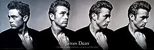 James Dean Dream Celebrity Icon Quote Poster Print 12x36