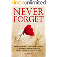 Never Forget: Six extraordinary World War II stories of courage, survival and hope, told by the people who lived them