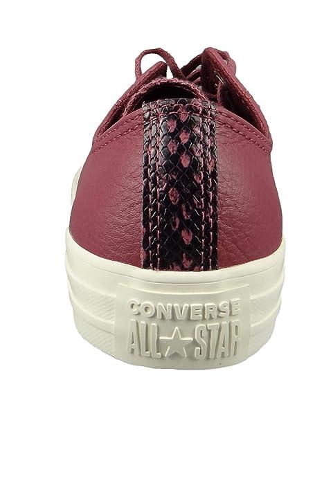 Converse CTAS Ox Vintage, Zapatillas de Deporte para Mujer