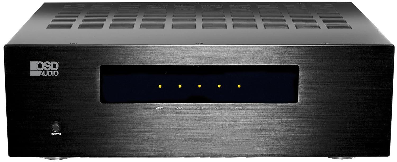 Amazon Com 5 Channel Home Theater Amp 180w 4ohm Balance Xlr Rca Inputs Digital Clh Osd Audio Electronics
