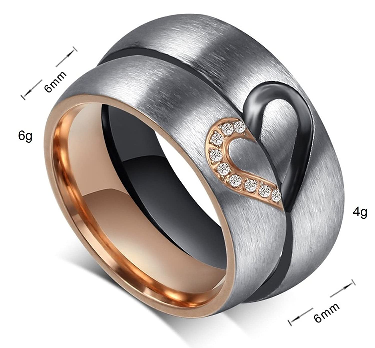 his and hers com couples engagement top promise girlfriend social heavy rings best for couple
