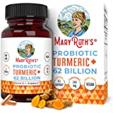 Probiotic Turmeric+ Extra GI Support by MaryRuth - Turmeric Complex with Probiotics - Turmeric Curcumin Capsules for Digestion - Plant-Based, Vegan Capsule - Sugar-Free - 60 Count