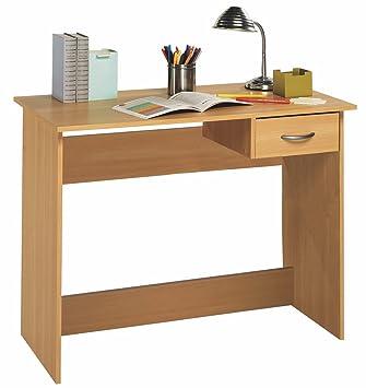 escritorio mesa de estudio juvenil cm roble para ordenador habitacin infantil