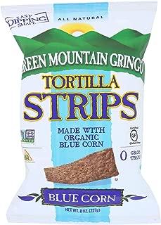 product image for Green Mountain Gringo Organic Blue Tortilla Strips, 8 Ounce -- 12 per case.