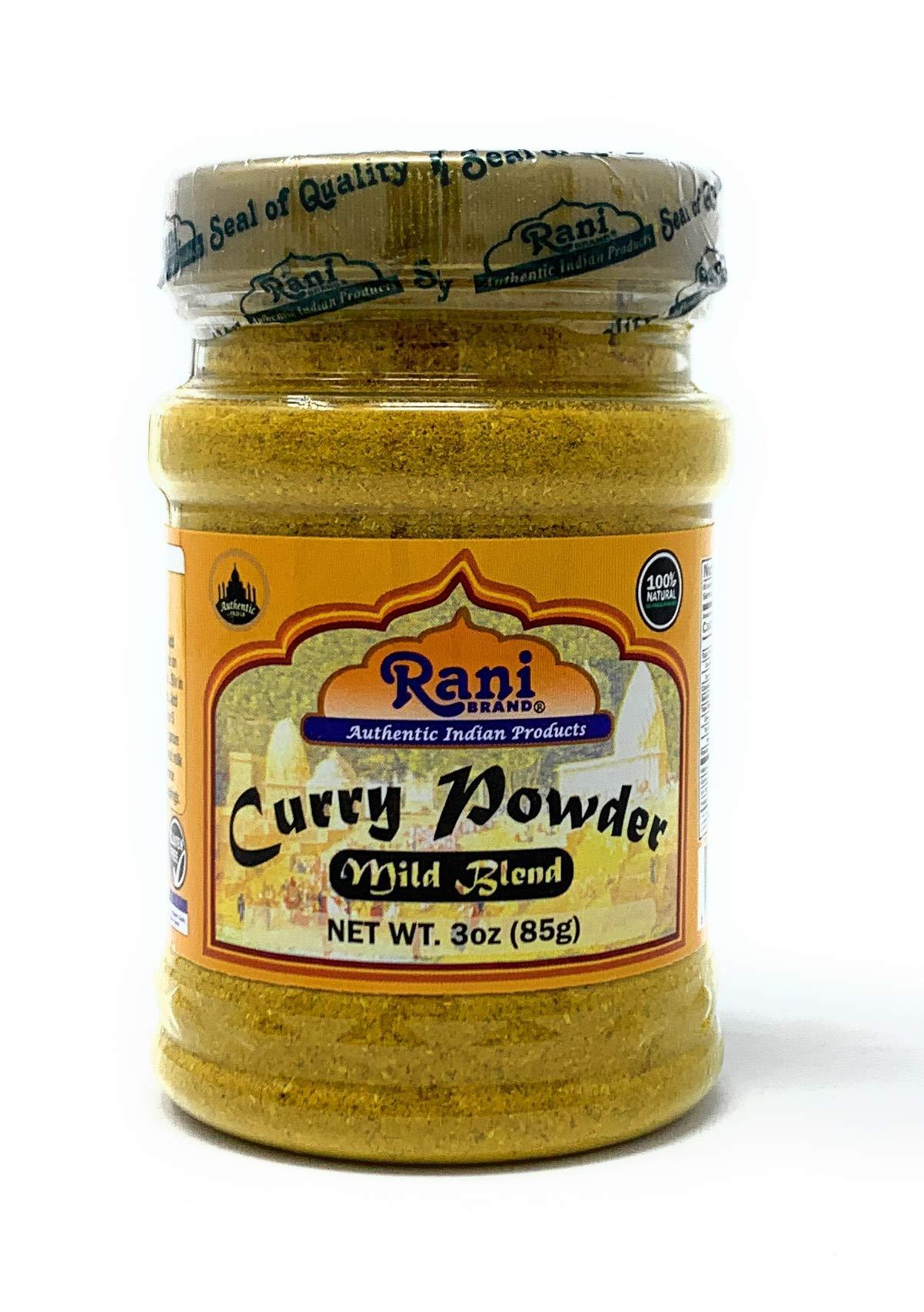 Rani Curry Powder Mild Natural 10-Spice Blend 85g (3oz) ~ Salt Free | Vegan | Gluten Free Ingredients | NON-GMO