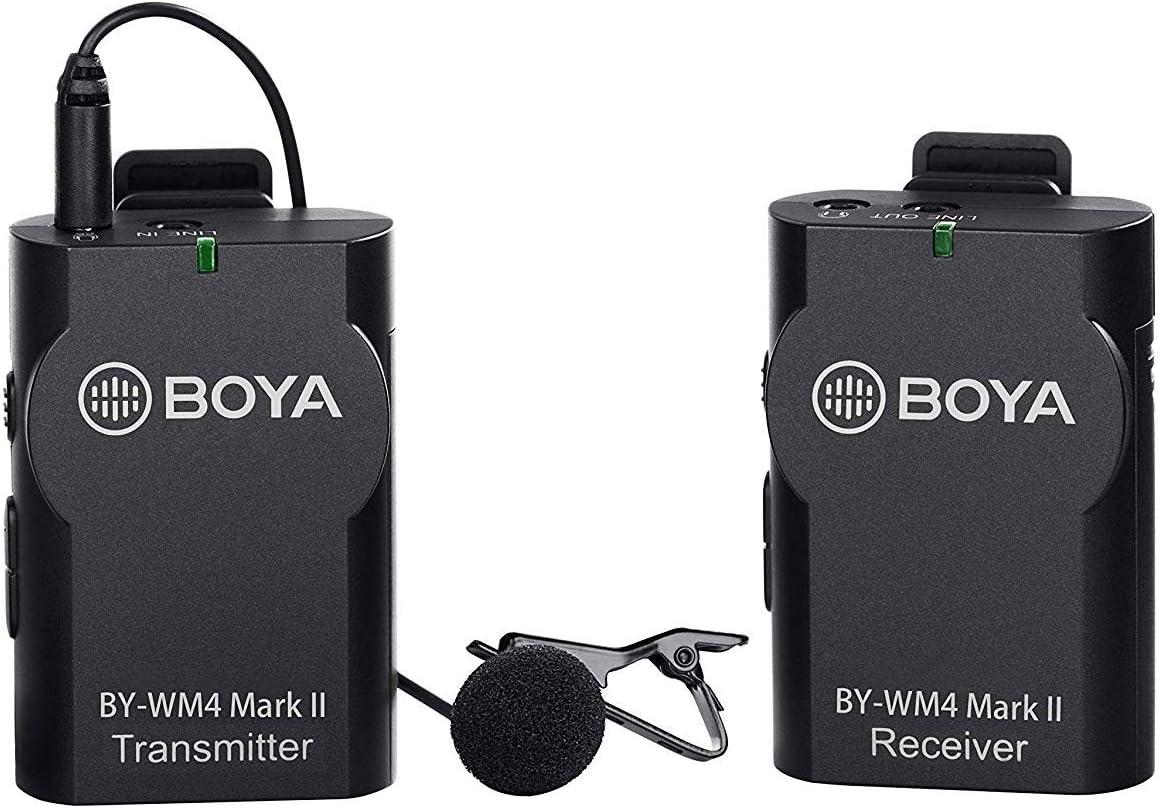 Boya By Wm4 Wireless Lavalier Mikrofon System For Canon Kamera