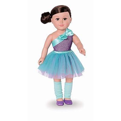 "My Life As Poseable 18"" Ballerina Doll - Brunette: Toys & Games"