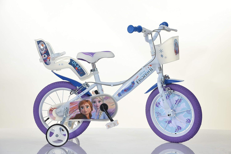 Dino Bikes Bicicleta Frozen 2 14 Pulgadas: Amazon.es: Juguetes y ...