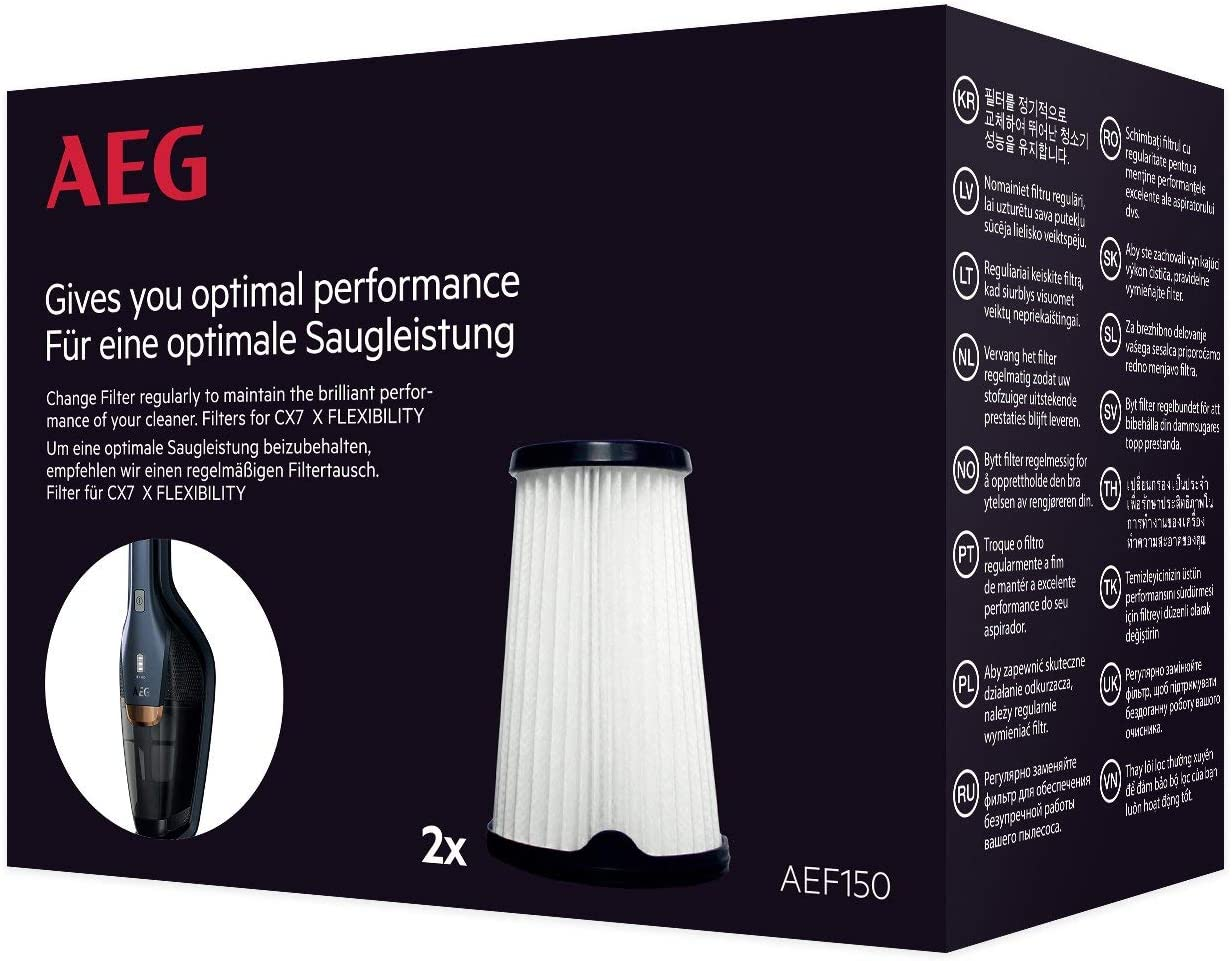 AEG AEF150 Filtro para aspiradora CX7, Cellulose: Amazon.es: Hogar