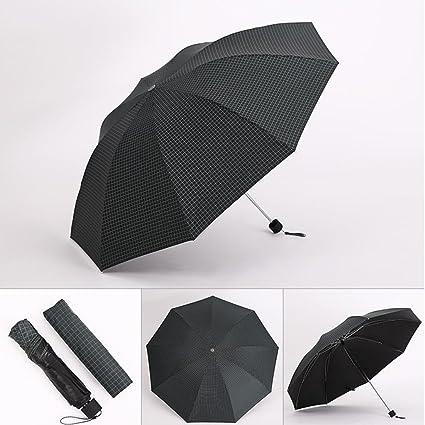 45f2a16c64b2 Amazon.com: SX-ZZJ Umbrella Windproof Rain Dual-use Three-fold ...