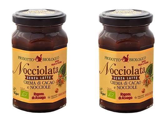 BIO Crema De Cacao Y Avellanas Nocciolata Sin Leche