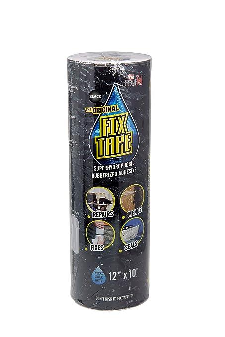 The Original Fix Tape - Cinta adhesiva de goma e impermeable para reparar barcos