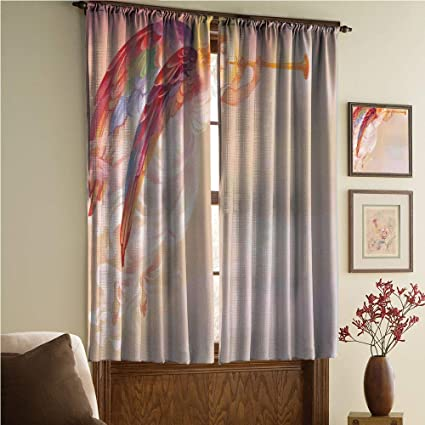 Amazoncom Bedroomliving Roomkidsyouth Room Curtain Panels 2