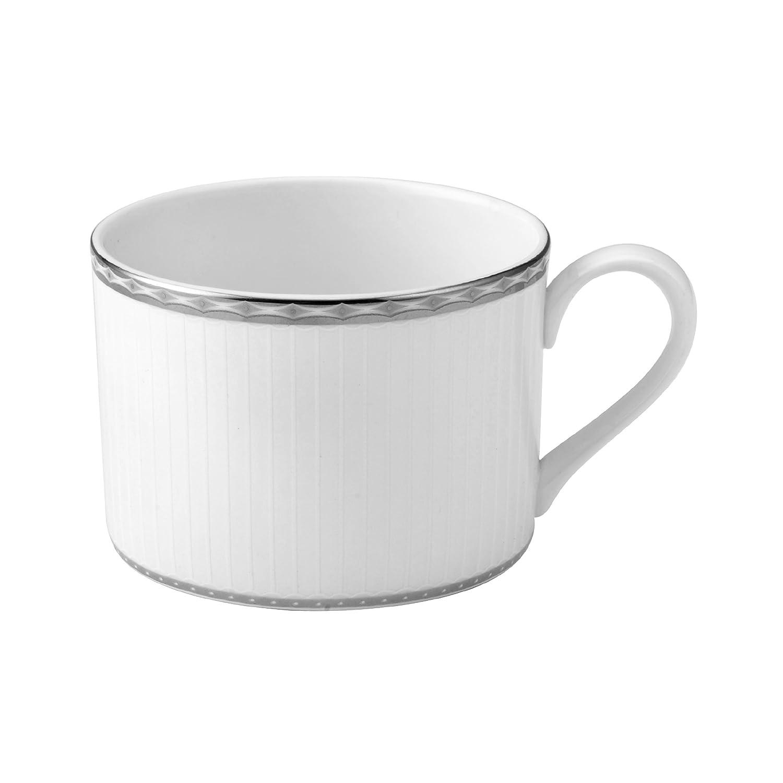 9 oz White Mikasa Portico Porcelain Teacup
