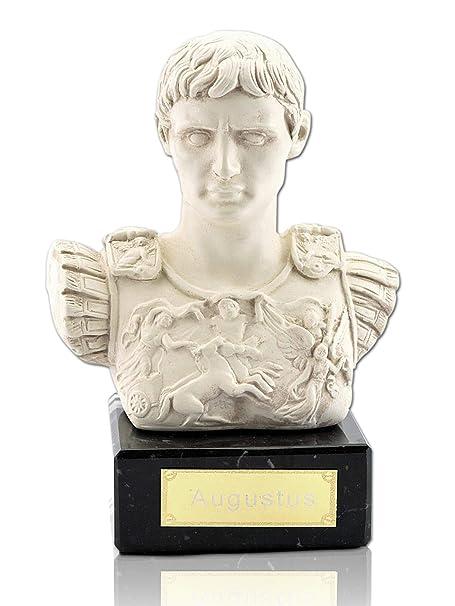 Augustus Kaiser Busto Romano - Prima Porta Darstellung ...