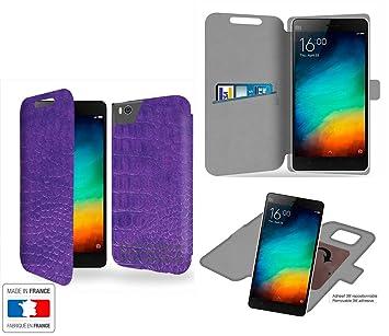 Funda Carcasa Xiaomi Mi4C Ultra violet Collection cocodrilo ...