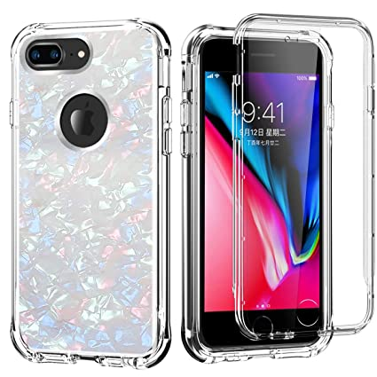 Amazon.com: Funda para iPhone 8 Plus, iPhone 7 Plus, iPhone ...