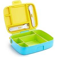 Munchkin Bento Box Toddler Lunch Box, Green