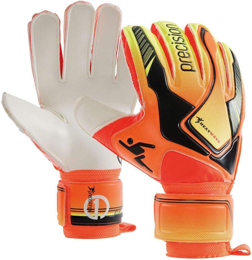 Precision Heatwave Adult Football Soccer Goalkeeper Glove Orange//Black