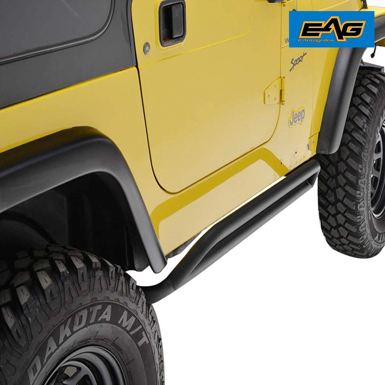 EAG Side Step Armor Nerf Bar for 87-06 Jeep Wrangler TJ YJ