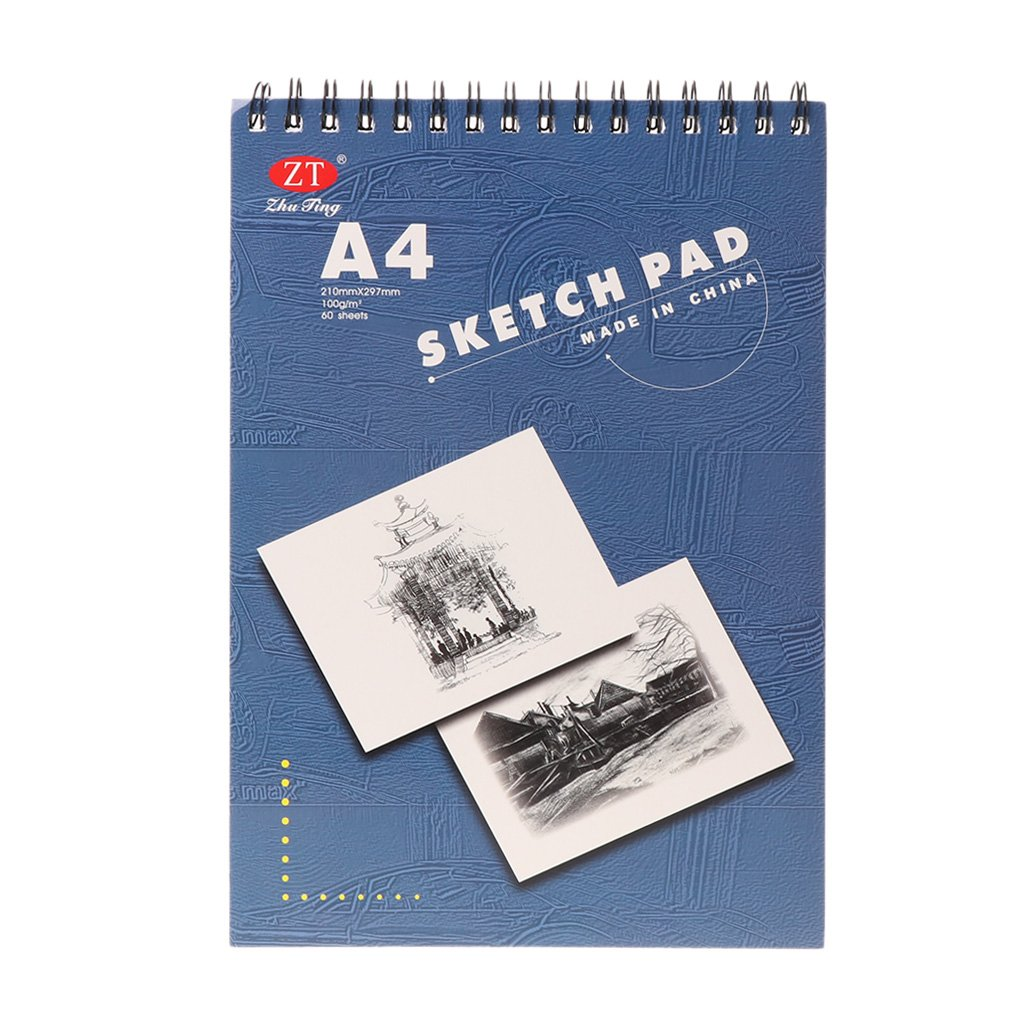60 Sheet A4 Painting Drawing Paper Sketch Book Pad Art Sketchbook School Gift yaonow