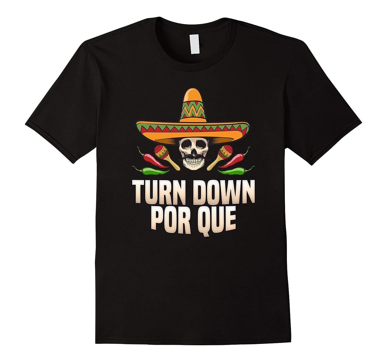 Sombrero Skull Turn Down Por Que for Cinco De Mayo Party-CD