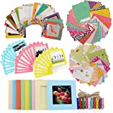 Ngaantyun 8 in 1 Bundle Kit Accessories for Fujifilm Instax Square SQ6/SQ10 Camera Share SP-3 Printer Films- Pack of Sticker